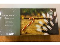 Fairy Lights - 100 Clear Bulbs RRP £15.00 (BRAND NEW BOXED)