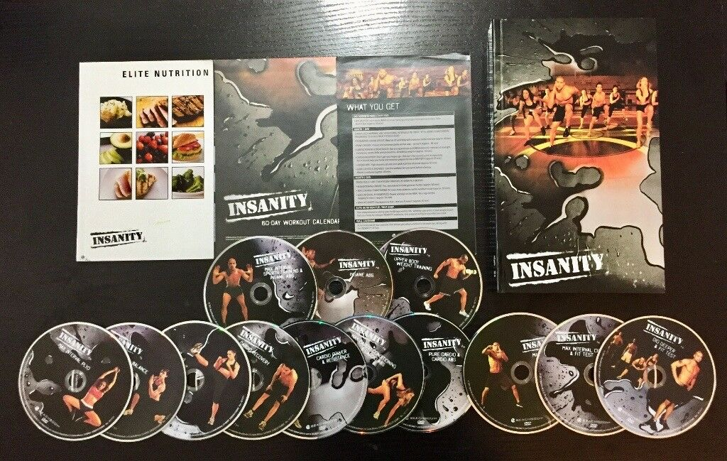 Insanity Workout DVD Set | in Chapel Allerton, West Yorkshire | Gumtree