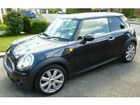Mini One mk2 57 plate Metalic black