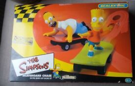 Scalextric - Simpsons Skateboard Chase