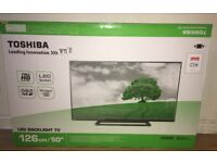 TOSHIBA 50 inch FULL HIGH DEFINITION SLIM EDGE LED TV