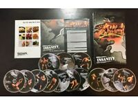 New and Sealed Insanity Workout DVD Set