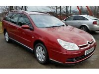 2006 CITROEN C5 1.6 HDI VTR ESTATE -60 MPG- MOT AUG 2018 1 PREVIOUS OWNER - PART EXCHANGE WELCOME -