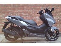 Honda Forza 125cc (16 Reg) in silver, Excellent condition! One previous owner!