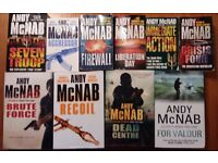Books - Andy McNab