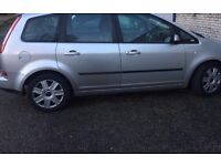 FORD FOCUS C-MAX LX SILVER 2007