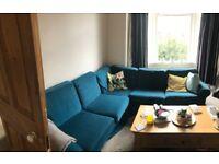 Ektorp Ikea Teal Corner Sofa
