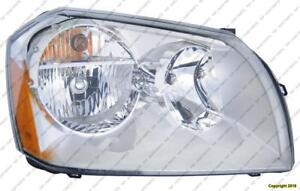 Head Light Passenger Side Chrome 5.7 L High Quality Dodge Magnum 2005-2007
