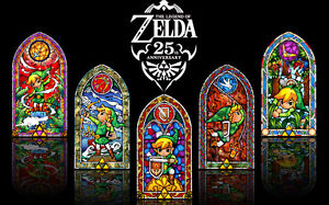 the legend of zelda 25th anniversary Game Fabric poster 21