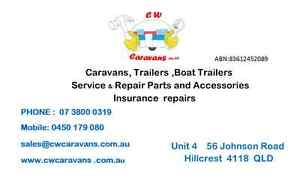 Mobile, Caravans repair and service ,insurance Repairs ,Parts Brisbane City Brisbane North West Preview
