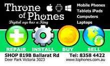 T.O.P - Cash for Phones! Buying NEW OLD BROKEN Devices. REPAIRS Deer Park Brimbank Area Preview