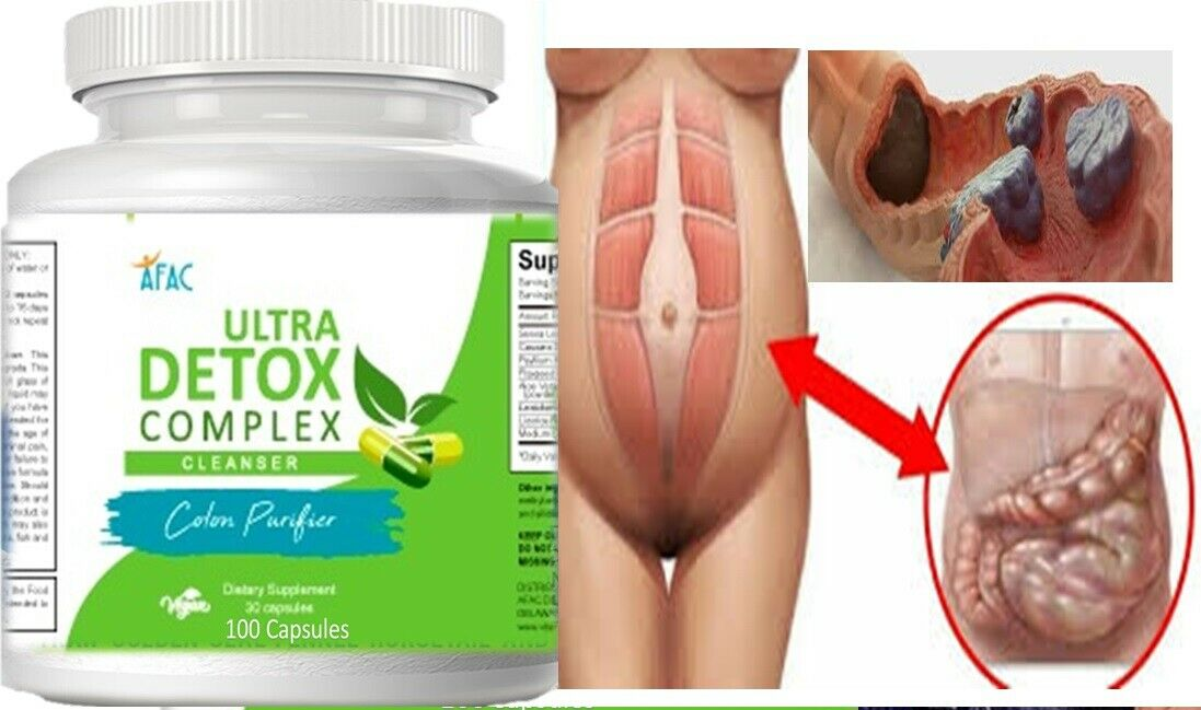 COLON CLEANSER powder capsules colagina desentoxicador livera seltzer detox 3