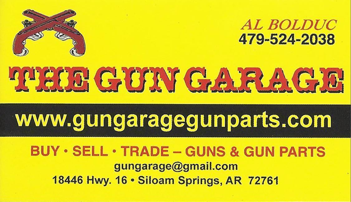 Items In Gun Garage Store On EBay