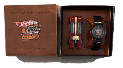 Hot Wheels Splittin Image 30th Anniversary watch & car set! Rare! New in box!