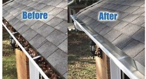Eavestrough cleaning- Fort Garry & Fort Richmond.