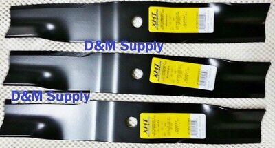 Set Of 3 Kubota 54 Mower Blades Rck54-23zg Rck54gr Rck54p-127z K5617-34330