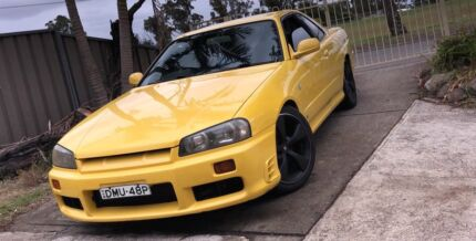 1998 Skyline R34 GTT