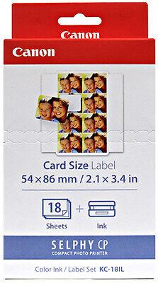 Genuine CANON KC-18IL Tinten/Foto Printer Papiersatz /SELPHY CP1200 910 900 800