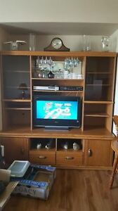 All Purpose Hutch/Display Cabinet/TV Stand