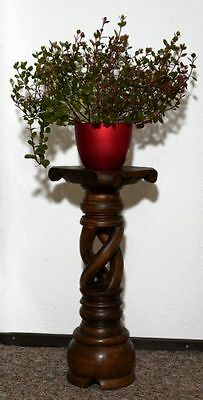 Blumensäule Holz Blumenständer Blumentisch BLST03