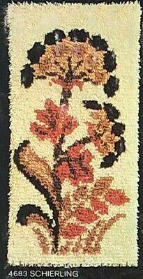 Smyrnajoy, Knüpfpackung, Wandbehang, knüpfen, Blume, vorgemalt , 32x63cm