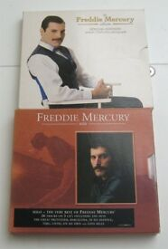 2 x Freddie Mercury Special Edition CDs Solo 3 Disc Album with Booklet and The Album £5 the pair