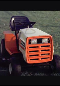 80's Gilson lawn tractor