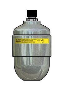 Fox HST0.7 Membranspeicher 0,7 l reparierbar diaphragm accumulator Hydraulik