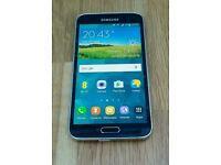 S5 Galaxy SM-G901F Unlocked Immuculate Condition