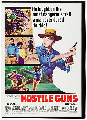 Hostile Guns 1967 DVD - Yvonne De Carlo, George Montgomery, Tab Hunter