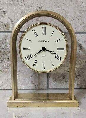 Vintage Howard Miller Mantle Desk Clock