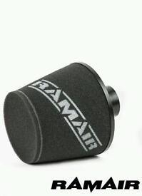 Oversized RamAir 70mm Air Filter Induction
