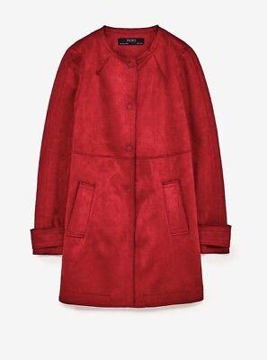 5dc21699 Zara Red Coat : Searching Items To Buy? Go To ShopyShake. Zara Red ...