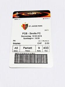 used ticket FC BASEL - SEVILLA FC 10.03.2016 - <span itemprop='availableAtOrFrom'>Kraków, Polska</span> - used ticket FC BASEL - SEVILLA FC 10.03.2016 - Kraków, Polska