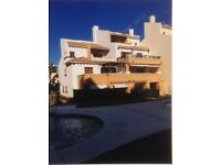 Three bed duplex apartment situated on the Algarve/Spanish border