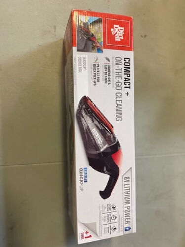 Dirt Devil Cordless Quickflip Compact + On-the-Go Cleaning Lightweight 8V - NOB