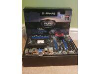 Sapphire Pure Platinum A85XT AMD FM2/FM2+ Motherboard Bluetooth HDMI DDR3