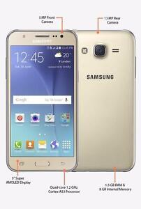 Brand New Unlocked Samsung Galaxy J5 (2016) LTE Dual SIM Gold or White