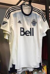 Vancouver Whitecaps Jersey! Authentic Adidas MLS Large