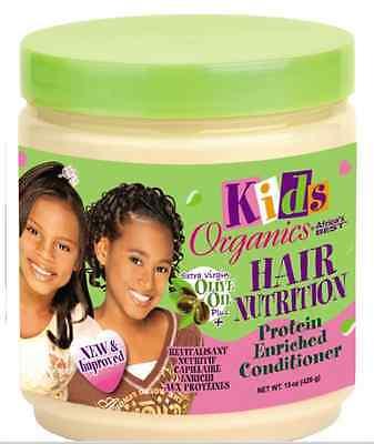 Africa`s Best Kids Organics Extra Virgin Olive Oil Hair Nutrition 15oz
