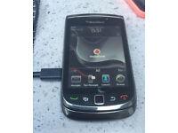 Blackberry Torch 9800 on Vodafone