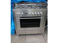 Gas / electric range cooker