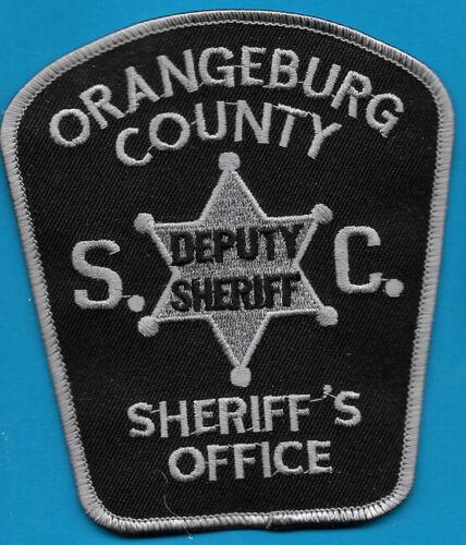 ORANGEBURG COUNTY CO SC SHERIFF DEPT GRAY AND BLACK (FIRE) OCO SO SD DEPUTY