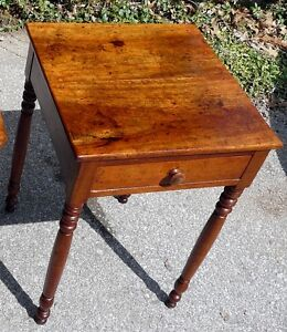 Antique Cherry Lamp Table or Bedside Table Kingston Kingston Area image 3