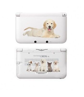Carcasa 3DS XL Perro 3 Perro Gato Labrador Lindo Pet Transparente