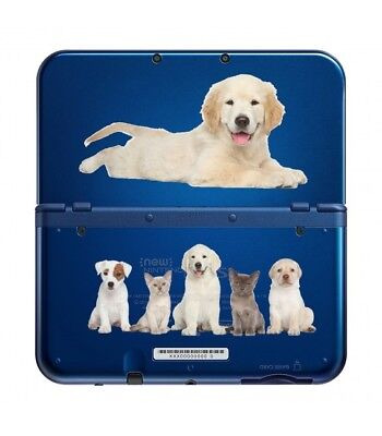 Carcasa Nuevo 3DS XL Perro 3 Perro Gato Labrador Lindo Pet Transparente