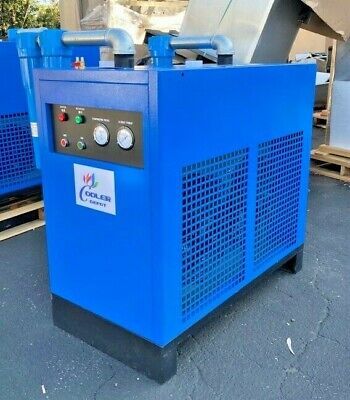New 300 Cfm Refrigerated Compressed Air Dryer 75hp Compressor 220v Cooler Depot