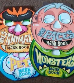 £2 great kids party book of masks