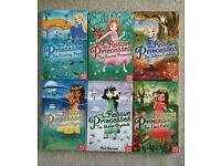 Set of 6x The Rescue Princesses books