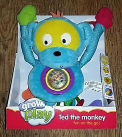 Grow and play Ted the monkey